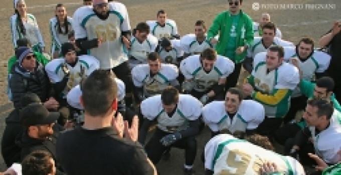 Spartans Taranto - Salento Dragons. Prima vittoria fuori casa della compagine salentina