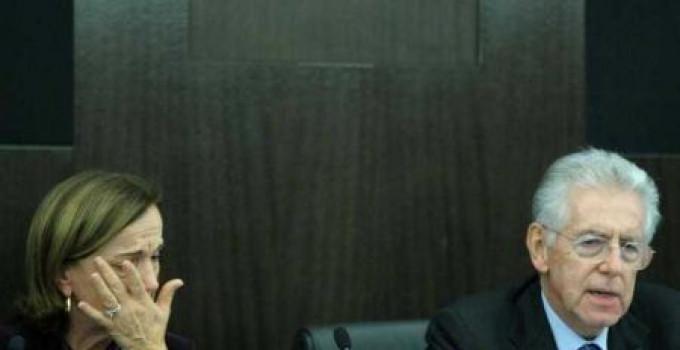DECRETO SALVA ITALIA: nuova manova Monti