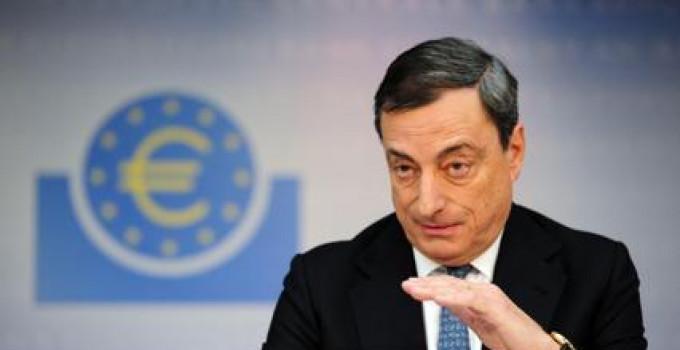 Draghi: soldi all'economia reale