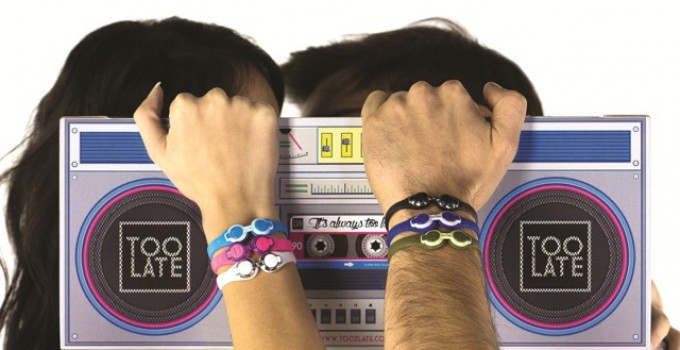Clubber, bracelet for party people by Too Late