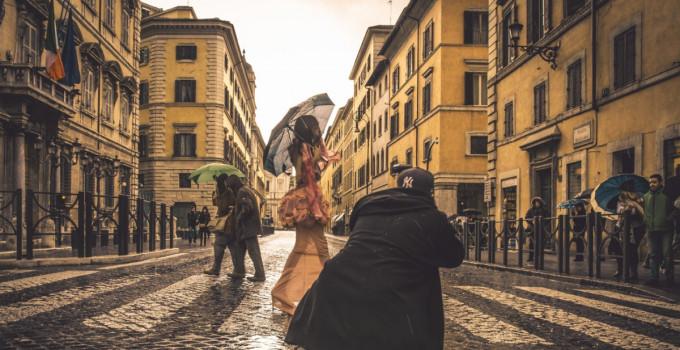 24 ore per fotografare il grande live della moda
