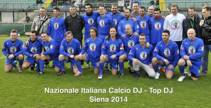 Nazionale Italiana Calcio Deejay: Partita del Cuore il 29 maggio a Scarperia