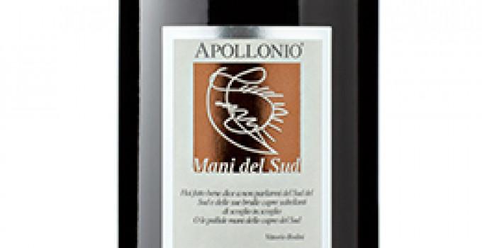"""Il Salice salentino """"Mani del Sud"""" 2012 delle Cantine Apollonio tra """"I 100 vini da bere subito"""""""