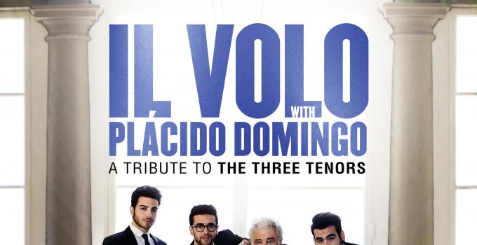 """IL VOLO, un altro traguardo! Con """"Notte Magica - A tribute To the Three Tenors"""" conquistano il disco di platino Mittentevalenti"""