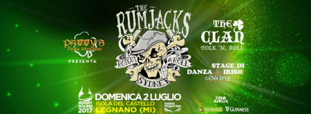 Paddy's La festa Irlandese / The Rumjacks + The Clan