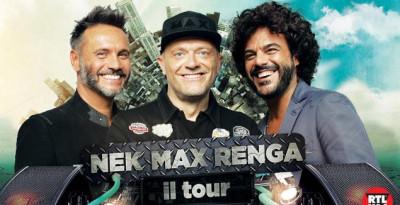 """MAX, NEK e RENGA: già oltre 50.000 biglietti venduti per """"MAX NEK RENGA, IL TOUR"""""""