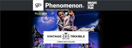 Vintage Trouble / Phenomenon Live
