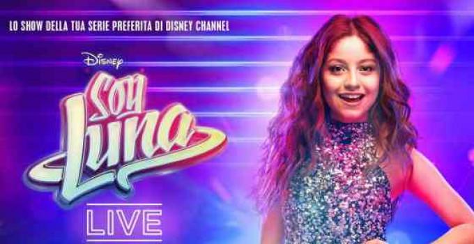 IL TOUR EUROPEO DI SOY LUNA LIVE É INIZIATO CON IL SOLD OUT DI BARCELLONA! in italia dal 24 gennaio