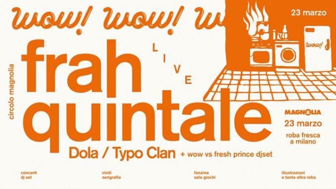 MilanoFrah Wow Quintale ↠ Clan Dola Typo A Fresca Roba kXZuiP