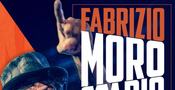 FABRIZIO MORO: il 16 giugno in concerto allo STADIO OLIMPICO di Roma!