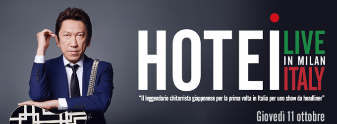 Hotei Live in Milan