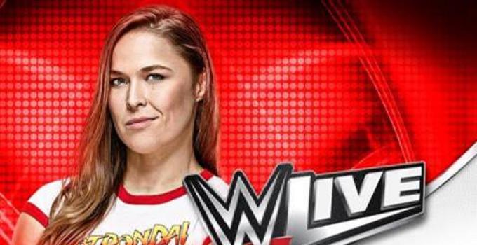 WWE Live RONDA ROUSEY SALIRA' SUL RING DI WWE LIVE IL 18 MAGGIO A TORINO