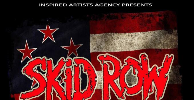 Skid Row - la storica band Americana in concerto a roma