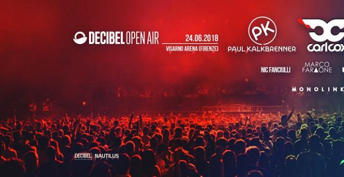 Decibel Open Air, domenica 24 giugno alla Visarno Arena attese 15 mila persone per le star dell'elettronica internazionale