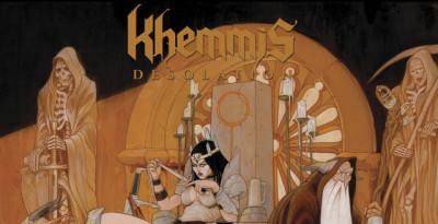 """KHEMMIS – il nuovo album """"Desolation"""" è nei negozi + pubblicato il secondo trailer!   Il quartetto di Denver KHEMMIS ha dimostra"""