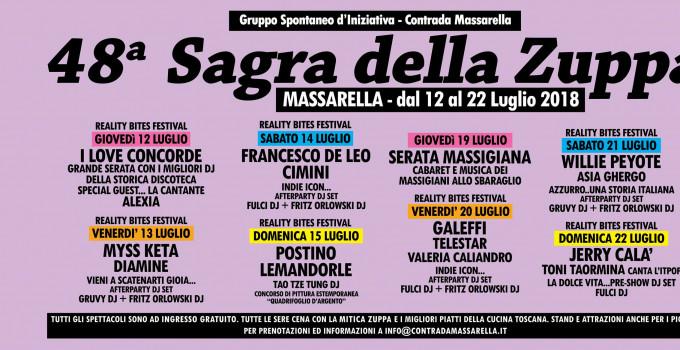 REALITY BITES FESTIVAL, da gio 12/7 Fucecchio (Firenze)