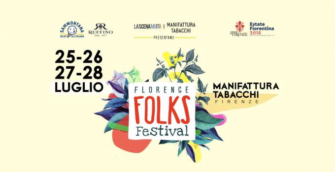 Florence Folks Festival, dal 25 al 28 luglio alla Manifattura Tabacchi di Firenze