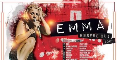 """EMMA: torna a FEBBRAIO nei palasport d'Italia con """"ESSERE QUI TOUR""""!"""