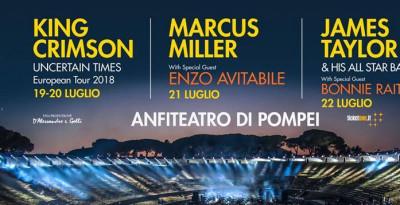 Tre serate magiche di grande musica per il POMPEI SUMMER FESTIVAL