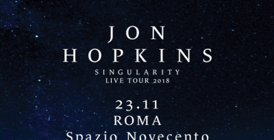 JON HOPKINS - UNA DATA A ROMA A NOVEMBRE!