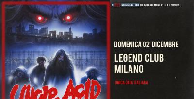 UNCLE ACID & THE DEADBEATS  È USCITO IL NUOVO ALBUM WASTELAND  LA BAND IN ITALIA PER UN'UNICA DATA A DICEMBRE