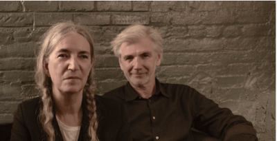 """PATTI SMITH annuncia """"Words and Music"""", una serie di concerti-reading a dicembre in Italia con Tony Shanahan"""