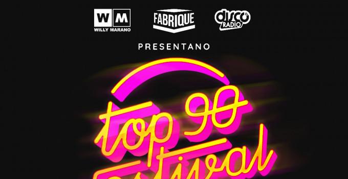 TOP 90 FESTIVAL: IL 31 OTTOBRE I GRANDI NOMI DELLA MUSICA DANCE ANNI 90 DI NUOVO INSIEME AL FABRIQUE DI MILANO