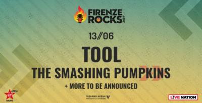 FIRENZE ROCKS 2019: The Smashing Pumpkins saliranno sul palco il 13 giugno nella stessa giornata dei Tool