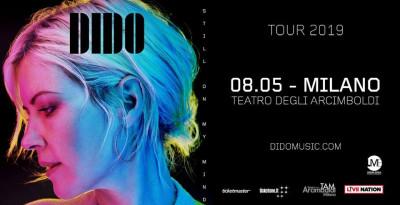 DIDO: il ritorno di una grande diva della musica in concerto l'8 maggio a Milano