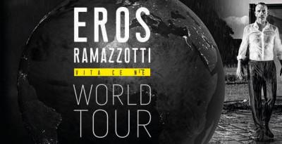 Torna al Lucca Summer Festival   EROS RAMAZZOTTI  VITA CE N'È WORLD TOUR