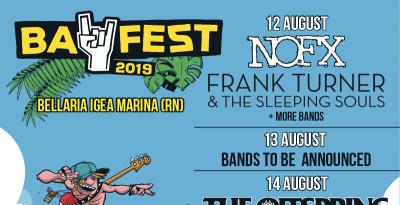 BAY FEST 2019 - The Story So Far e Frank Turner si aggiungono alla lineup: ecco la suddivisione delle singole giornate
