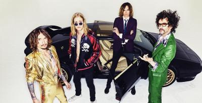 THE DARKNESS - La rock band britannica primo nome internazionale del 59° FESTIVAL DI MAJANO