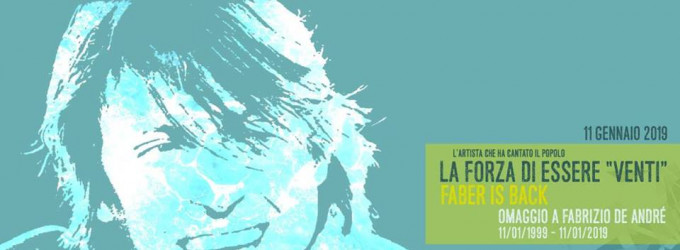 "Faber is back - La forza di essere ""Venti"" - Live Club"