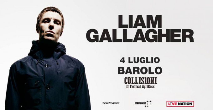 LIAM GALLAGHER: annunciata un'unica data in Italia al Festival Collisioni di Barolo