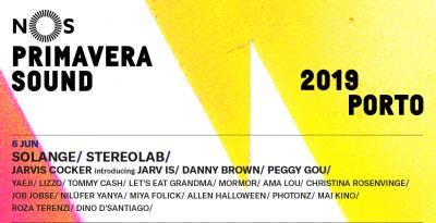 Solange, J Balvin, Erykah Badu, Interpol, Rosalía e Stereolab nel cartellone del NOS Primavera Sound 2019