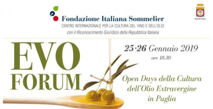 Evo Forum, Open Days della Cultura dell'olio Extravergine