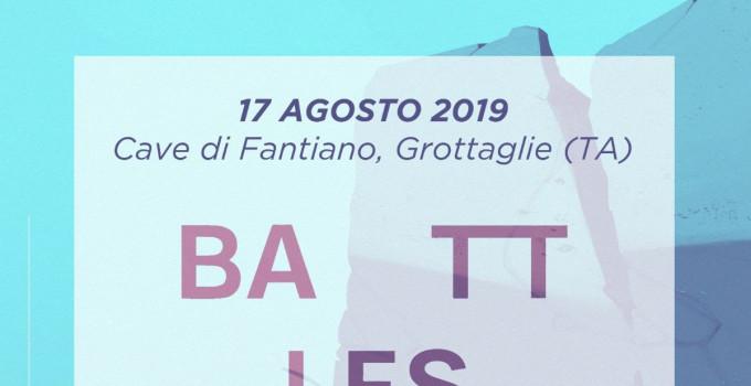 Dopo Franz Ferdinand Cinzella annuncia BATTLES e NU GUINEA per la data di inaugurazione del festival, il 17 agosto