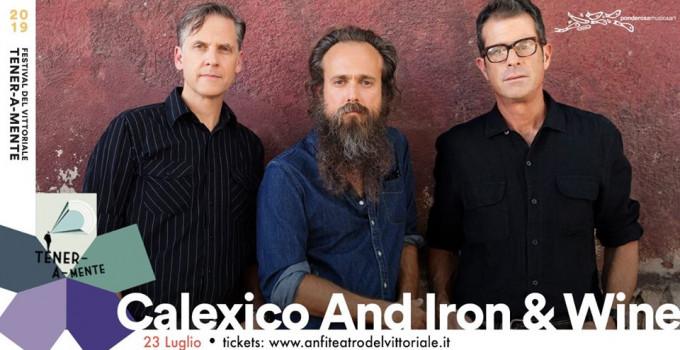 Il Festival dell'Anfiteatro del Vittoriale Tener-a-mente annuncia CALEXICO and IRON&WINE in concerto, MART 23 LUGLIO