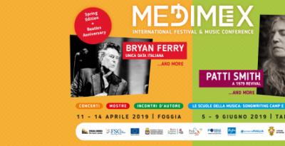 MEDIMEX 2019: doppio appuntamento in Puglia / MEDIMEX: in 2019 a double appointment in Puglia