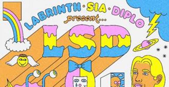 LSD (Labrinth, Sia e Diplo) pubblicano il loro album di debutto il 12 aprile