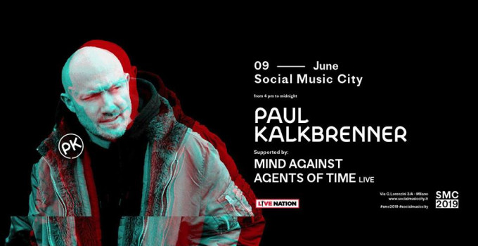PAUL KALKBRENNER: sabato 9 giugno live al Social Music City di Milano