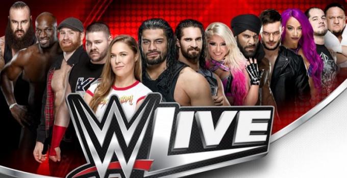 WWE LIVE a Novembre in Italia
