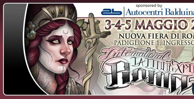 XX International Tattoo Expo Roma: dal 3 al 5 maggio 400 tatuatori da tutto il mondo alla Nuova Fiera di Roma
