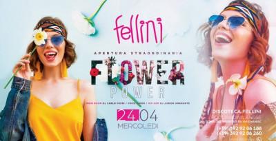 Fellini Pogliano Milanese: il 24/04 Flower Power e il 30/4... Apertura Straordinaria!