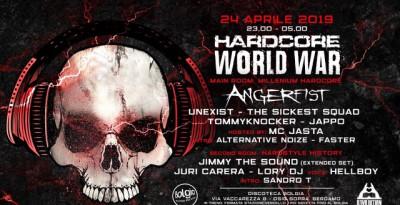 24/04 Hardcore World War / Angerfist + many more fa scatenare Bolgia - Bergamo