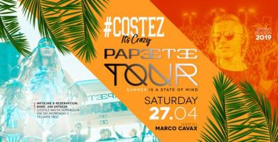 27/04 Papeete Tour @ Nikita #Costez - Telgate (BG)
