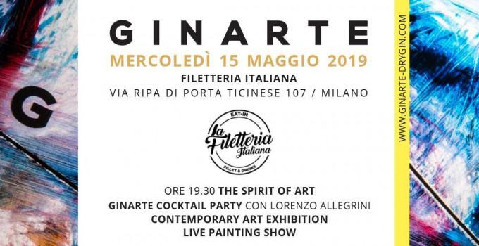 15/05 GINARTE, the Spirit of Art @ Filetteria Italiana - Ripa di Porta Ticinese Milano