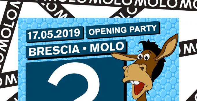 MOLO - Brescia, si balla forte: 17/5 Random (una festa a caso), 18/5 Second Night, 26/5 Jacob Forever