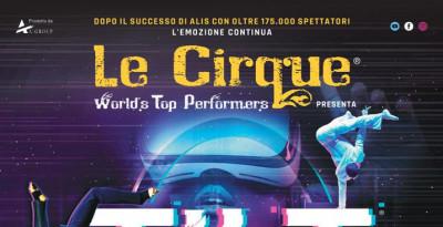 TILT - LE CIRQUE WORLD'S TOP PERFORMERS - dal 31 dicembre al 6 gennaio - Teatro EuropAuditorium, Bologna