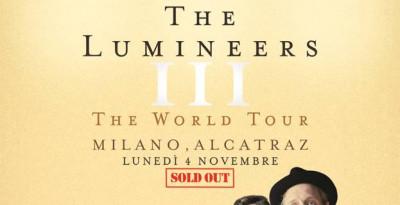 THE LUMINEERS: SOLD OUT LA LORO UNICA DATA ITALIANA!